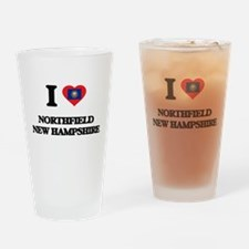 I love Northfield New Hampshire Drinking Glass