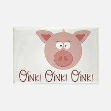 Pig Oink Magnets