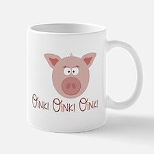 Pig Oink Mugs