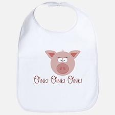 Pig Oink Bib