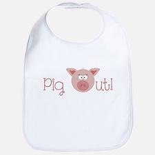 Pig Out Bib