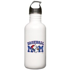 Snoopy Baseball Mom Water Bottle