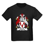 Saxton Family Crest Kids Dark T-Shirt