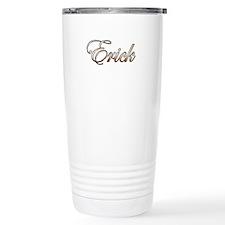 Gold Erick Travel Mug