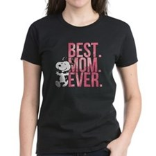 Snoopy Best Mom Ever Tee