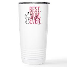 Snoopy Best Mom Ever Travel Mug
