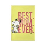 Peanuts mom Magnets