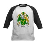 Saxby Family Crest Kids Baseball Jersey