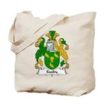 Saxby Family Crest Tote Bag