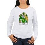 Saxby Family Crest Women's Long Sleeve T-Shirt