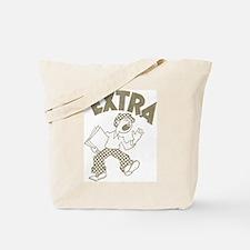 Retro Newsboy Tote Bag