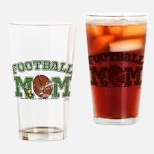 Woodstock Football Mom Drinking Glass