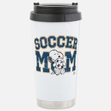 Snoopy Soccer Mom Stainless Steel Travel Mug