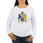 Sawle Family Crest Women's Long Sleeve T-Shirt