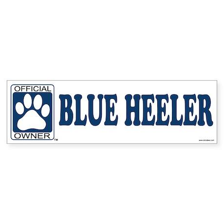 BLUE HEELER Bumper Sticker
