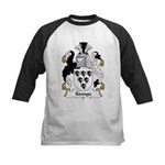 Savage Family Crest Kids Baseball Jersey