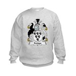 Savage Family Crest Kids Sweatshirt