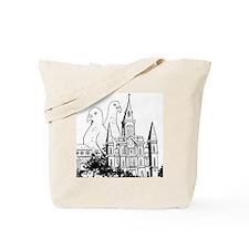 Laissez Les Pigeonnes Rouler Tote Bag