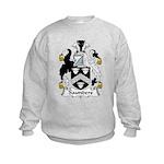 Saunders Family Crest Kids Sweatshirt
