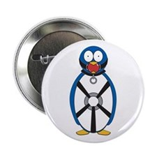 Naughty Penguin Button