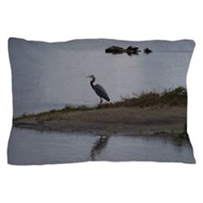Great Blue Heron Pillow Case