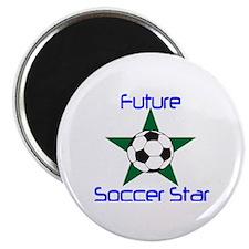 Cute Soccer baby Magnet