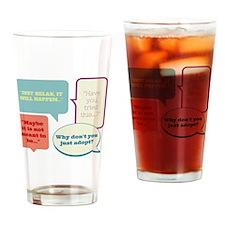 Advice Drinking Glass