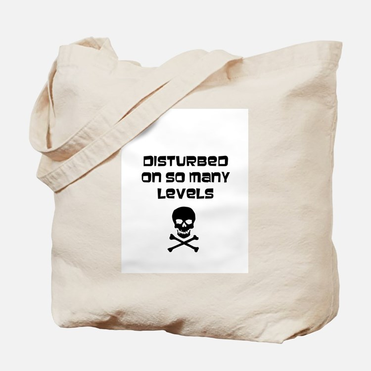 Cute Disturbed Tote Bag