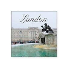 "LONDON GIFT STORE Square Sticker 3"" x 3"""
