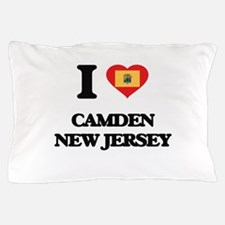 I love Camden New Jersey Pillow Case