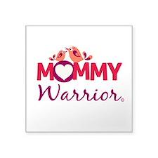 Mommy Warrior Logo Sticker