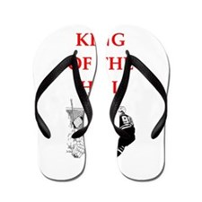 hockey joke Flip Flops