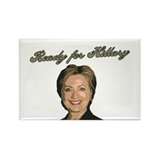 Ready for Hillary Rectangle Magnet