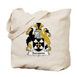Sampson Family Crest Tote Bag
