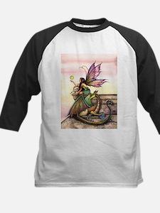Dragons Orbs Fairy and Dragon Illu Baseball Jersey