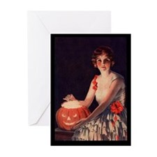 Pumpkin Lady Greeting Cards (Pk of 20)