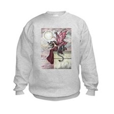 Restless Ruby Fairy and Dragon Ill Sweatshirt