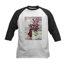 Restless Ruby Fairy and Dragon Ill Baseball Jersey