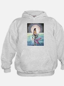 Enchanted Sea Mermaid Fantasy Art Hoodie