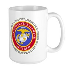 USMC Retired <BR>Master Sergeant Coffee Mug