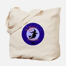 Make a Witch Foundation Tote Bag