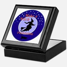 Make a Witch Foundation Keepsake Box
