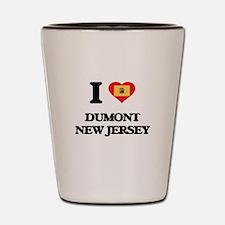 I love Dumont New Jersey Shot Glass