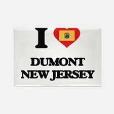 I love Dumont New Jersey Magnets