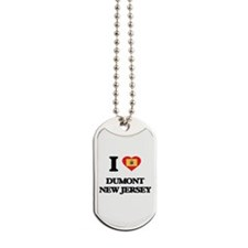 I love Dumont New Jersey Dog Tags