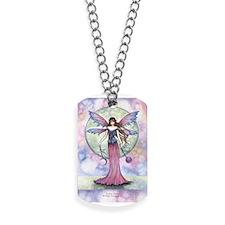 Luna Jewel Celestial Fairy Fantasy Art Il Dog Tags