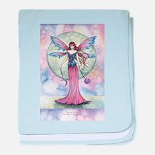 Luna Jewel Celestial Fairy Fantasy Ar baby blanket