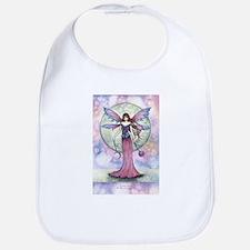 Luna Jewel Celestial Fairy Fantasy Art Illustr Bib