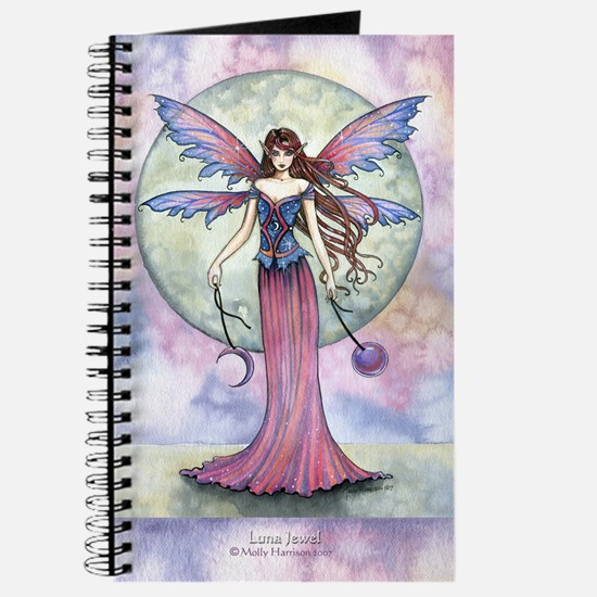 Luna Jewel Celestial Fairy Fantasy Art Ill Journal