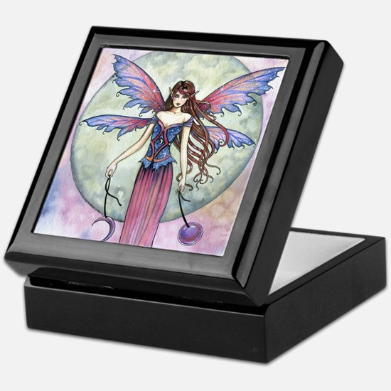 Luna Jewel Celestial Fairy Fantasy Ar Keepsake Box